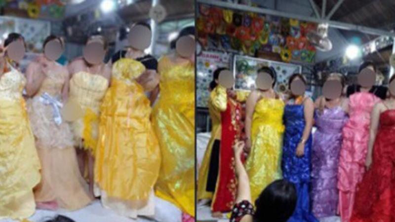 Soạn đồ gửi tặng bà con miền Trung, nhóm từ thiện dở khóc dở cười với thùng váy cưới còn mới nguyên