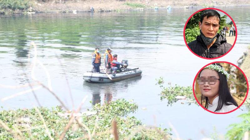 Cận cảnh hiện trường nơi 2 nghi phạm cướp tài sản rồi đẩy nữ sinh Ngân hàng xuống sông Nhuệ tử vong