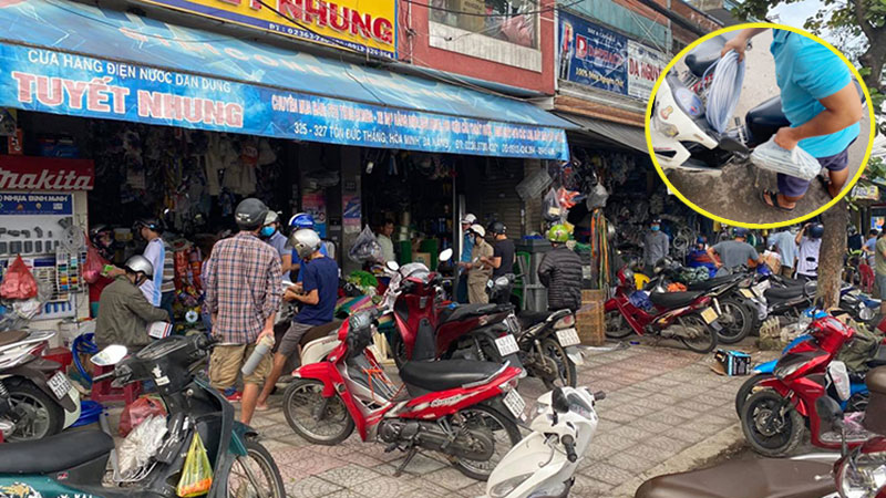 Người dân Đà Nẵng đổ xô mua vật dụng chằng chống nhà cửa đối phó 'siêu bão' số 9 Molave đổ bộ