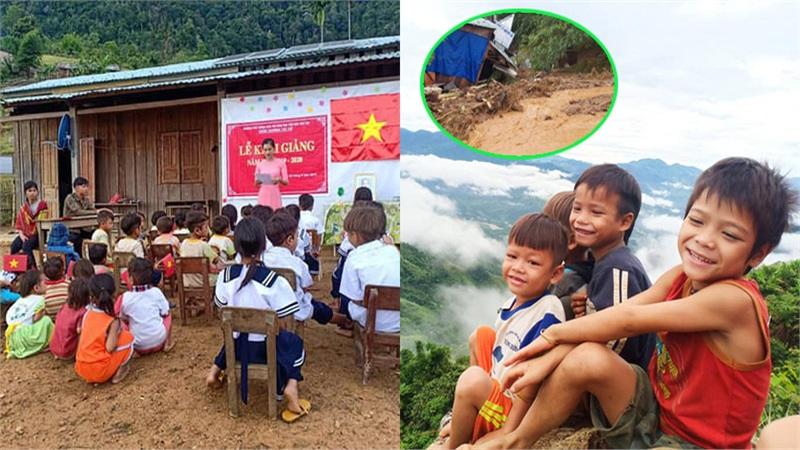 Hình ảnh đẹp nên thơ tại huyện Nam Trà My trước khi xảy ra vụ sạt lở kinh hoàng khiến nhiều người xót xa