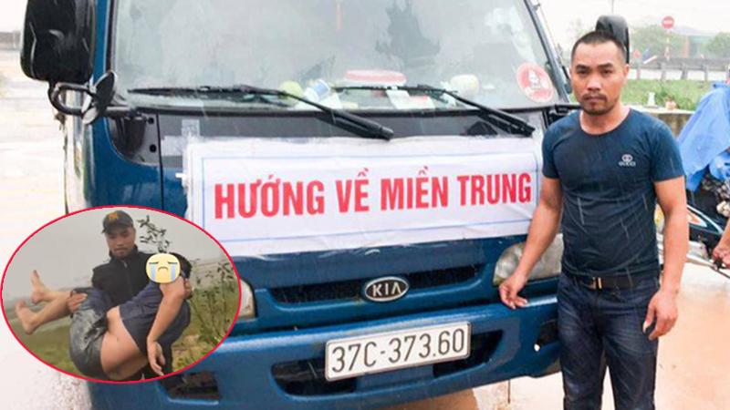Người đàn ông Nghệ An 2 lần làm 'người hùng' mùa mưa lũ, lần 1 phát 5.000 thùng mì, lần 2 cứu người tai nạn