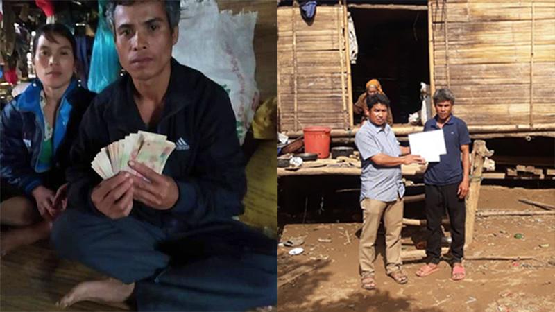 Gia đình nghèo ở Quảng Trị trả lại tiền từ thiện trong quần áo cũ được tặng 10 triệu đồng