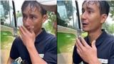 Người đàn ông có vợ con gặp nạn ở Trà Leng bật khóc: 'Em không cần tiền, em xin xe đi thôi'