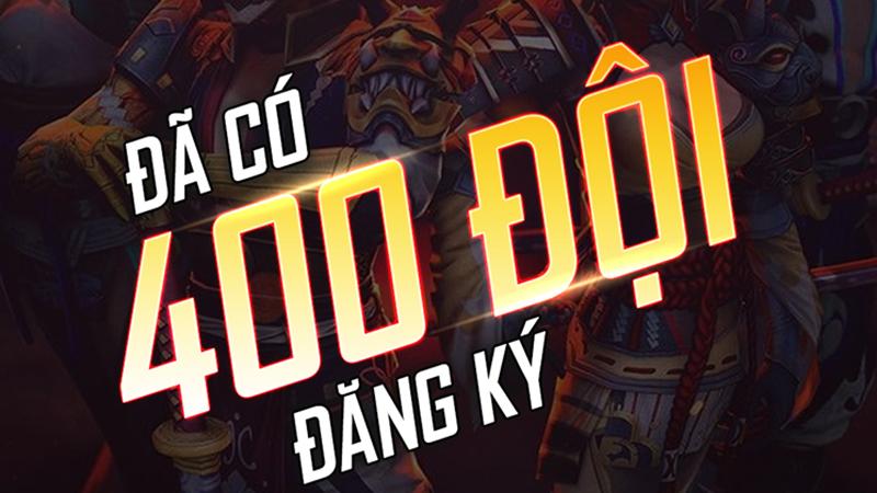 Tổng số đội tuyển đăng ký tham dự X Gaming Free Fire Fight đã vượt qua mốc 400
