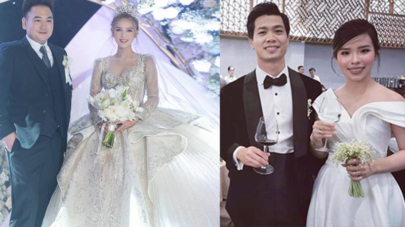 So kè nhan sắc 2 cô dâu hot nhất những ngày qua: Xoài Non và Viên Minh