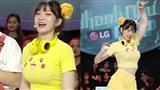 Hot Tiktoker Lê Bống tham gia gameshow khiến khán giả 'đỏ mặt' vì trang phục Pikachu bó sát