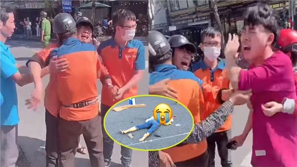 Giọt nước mắt của người thân cô gái trẻ bị xe tải cán tử vong khi dừng đèn đỏ ở Đà Nẵng