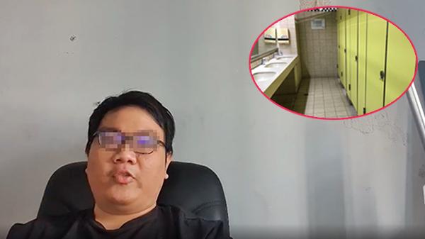Đặt máy quay lén đồng nghiệp nữ trong nhà vệ sinh bị phát hiện, thanh niên lên tiếng xin lỗi nhưng vẫn nhắn tin 'đe dọa' nạn nhân?