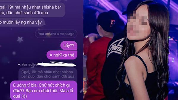 19 tuổi vào club uống bia, cô gái bị đối tượng hẹn hò chỉ trích 'ăn chơi sa đọa' và màn phản ứng gây tranh cãi