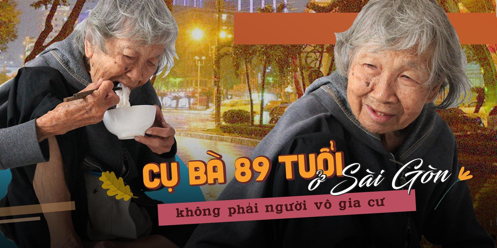 Sự thật chuyện cụ bà 89 tuổi bị con cháu bỏ rơi phải vào Sài Gòn xin cơm từ thiện cầm cự từng bữa