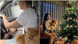 Sau nửa tháng cách ly, giờ đây chàng 'gấu Nga' Lâm Tây đã được ở chung phòng với bạn gái xinh đẹp rồi!