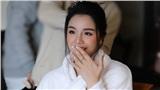 Hình ảnh của cặp đôi Bùi Tiến Dũng - Khánh Linh ở khách sạn tổ chức đám cưới tại Hà Nội, nhan sắc cô dâu xinh đến ngỡ ngàng