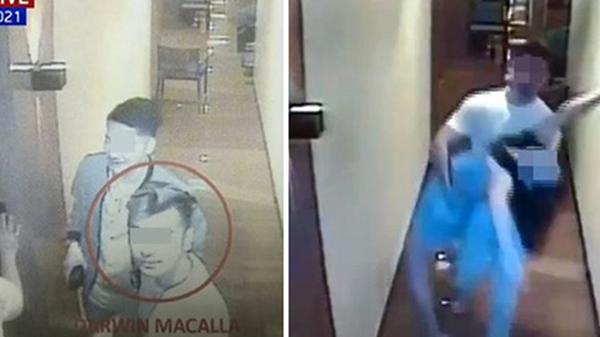 Hình ảnh và danh tính nghi phạm đầu tiên tại căn phòng Á hậu Philippines lui tới trong đêm định mệnh