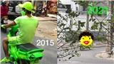 Nam thanh niên 6 năm trước diện cả cây xanh nõn chuối chạy xe ngoài đường, 6 năm sau còn gây sốc gấp bội phần