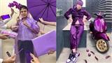 Màu sắc 'hot' nhất năm 2020 gọi tên màu tím: Tạo trend nhưng không phải ai cũng dám thử
