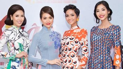 Hoa hậu H'Hen Niê lần đầu trình diễn thời trang sau đăng quang