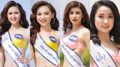 Sau khi lộ mặt mộc kém sắc, top 70 Hoa hậu biển Việt Nam toàn cầu gây bất ngờ vớibikini