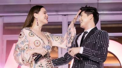 Noo Phước Thịnh khiến khán giả 'bấn loạn' khi song ca cùng Hồ Ngọc Hà