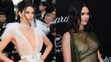 Hai lần xuất hiện tại Cannes 2018, Kendall Jenner đều 'mặc mà như không' nhưng khuôn mặt đơ cứng mới khiến công chúng chú ý nhất