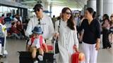 Ngọc Lan, Thanh Bình cùng con trai lên đường sang Hàn Quốc quay hình cho đài SBS
