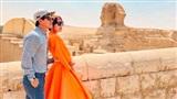 Vợ chồng Lý Hải - Minh Hà 'trốn con' đi hâm nóng tình cảm ở trời Tây