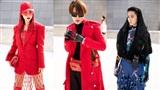 Hoàng Oanh, Gil Lê 'chất phát ngất' khi tham dự Seoul Fashion Week