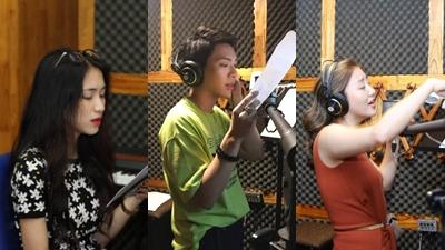 Bất ngờ chưa, Hòa Minzy - Erik và Văn Mai Hương lần đầu ra mắt sản phẩm âm nhạc chung