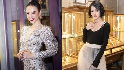Angela Phương Trinh, Khánh Linh The Face đọ dáng sexy tại sự kiện