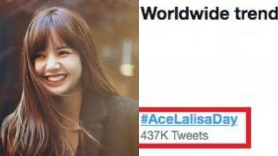 Lisa (BlackPink) nghẹn ngào hashtag trend No.1 toàn cầu fan dành tặng trong đêm sinh nhật tuổi 22