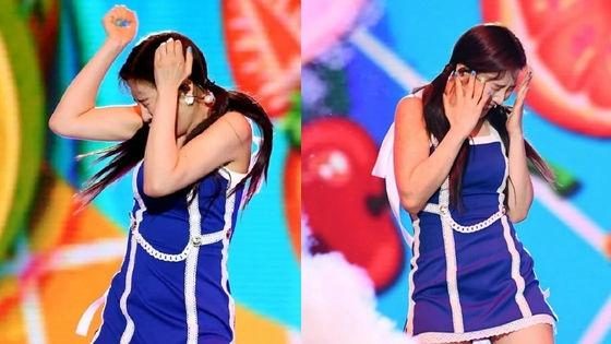 Dream Concert 2019: Fan Red Velvet lo lắng khi thành viên Joy tiếp tục hoảng sợ trước hiệu ứng pháo hoa khi đang biểu diễn