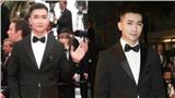 Không ồn ào như đàn chị Ngọc Trinh, Võ Cảnh lịch lãm, điển trai khi xuất hiện trên thảm đỏ LHP Cannes