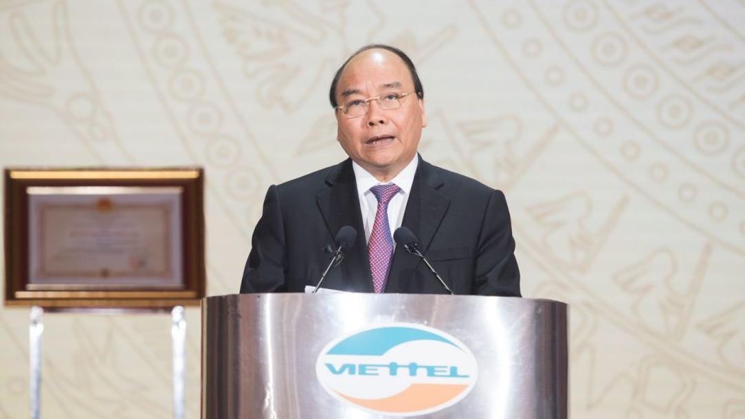 Thủ tướng Nguyễn Xuân Phúc: 'Viettel xứng đáng là một hiện tượng, niềm tự hào của Việt Nam'