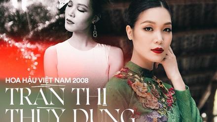 Hoa hậu Việt Nam 2008 Thùy Dung: Từ scandal Hoa hậu 'học dốt' đến ồn ào bị vợ cũ đại gia 'dằn mặt' và hạnh phúc giấu kín ở tuổi 30