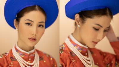 Diễm My 9X thần thái đỉnh cao trong phục trang cung đình ra mắt phim cung đấu đầu tiên của Việt Nam