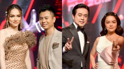 Hương Giang, Dương Cầm, Phạm Quỳnh Anhngồi ghế nóng The Voice Kids 2019