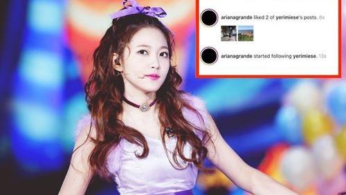 Trân trọng giới thiệu 'fan girl thành công' Yeri (Red Velvet): Được Ariana Grande 'thả tim' và còn nhiều hơn thế