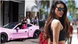 Phạm Hương láisiêu xe trên đường phố Mỹ, tiết lộ chuẩn bị đóng phim điện ảnh
