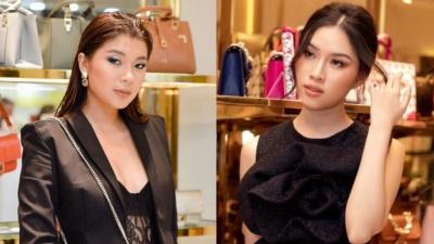 Đồng Ánh Quỳnh - Thanh Thanh Huyền gây chú ý khi cùng diện tông đen nhưng phong cách trái ngược