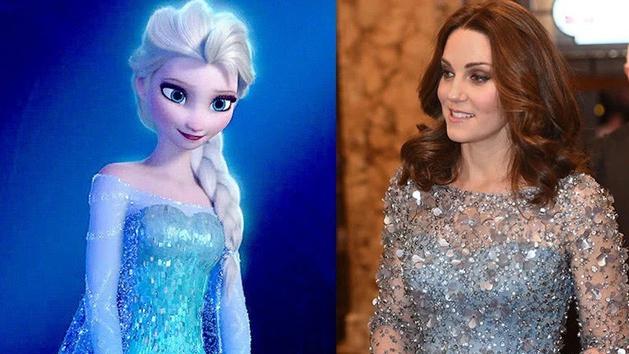 Công nương Kate nào có khác gì Công chúa Disney đời thực với 3 lần lên đồ như bước ra từ hoạt hình