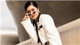 Huỳnh Tiên cuốn hút nổi bật chiều cao 1m80 giữa Seoul Fashion Week