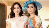 Hoa hậu Đặng Thu Thảo đẹp mong manh, cười rạng rỡ bên dàn sao nữ