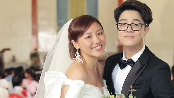 Cả thế giới ra đây mà xem, Văn Mai Hương và Bùi Anh Tuấn nào có đám cưới, chỉ đóng MV chung thôi!
