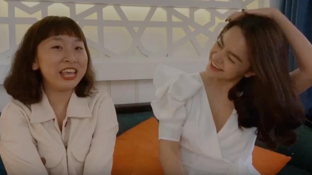 Mừng MV lọt top trending, Phạm Quỳnh Anh và Trang Hý nhắng nhít hát Xiêu Lòngtặng fan