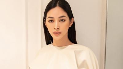 Mai Thanh Hà khoe gu thời trang tinh tế chỉ với trang phục trắng, đen