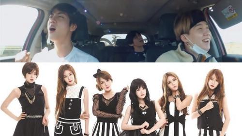 Là nhóm nhạc nam hàng đầu hiện nay, BTS vẫn là fanboy siêu dễ thương của T-Ara!