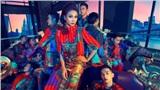 Thanh Hằng hóa nữ hoàng bên dàn mẫu nam giới thiệu BST mới 'Queen of love'