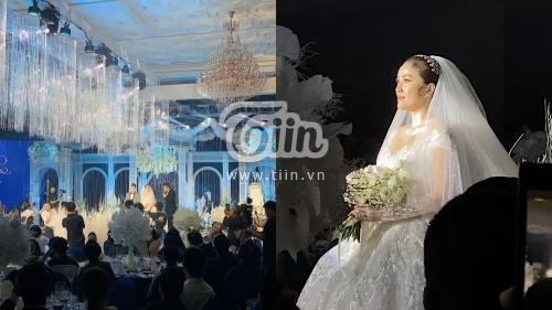 Những hình ảnh hiếm hoi của Bảo Thy trong lễ cưới tại khách sạn siêu sang