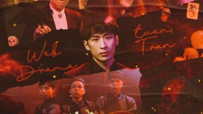 Sau hình ảnh ngôn tình, Tuấn Trần xuất hiện với vẻ ngoài bê bết máu trong teaser web drama mới