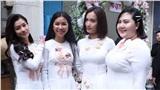 Hoàng Yến, Ái Phương xúng xính áo dài làm phụ dâu trong đám cưới Hoàng Oanh