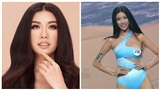 Thúy Vân lộ vòng 1 khi diễn bikini ngay trong đêm bán kết HHHV Việt Nam 2019